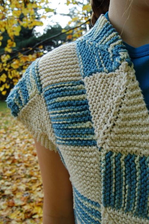sleeve/neck detail